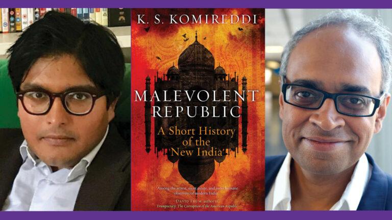 (From left) K.S. Komireddi and Manu Bhagavan
