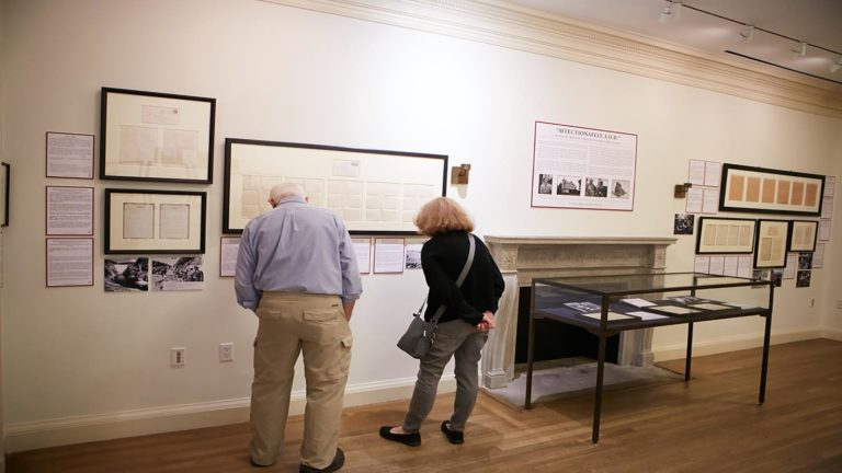 FDR Exhibit at Roosevelt House
