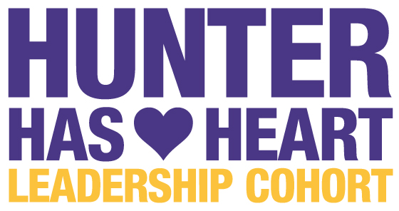 Hunter Has Heart Leadership Cohort logo banner
