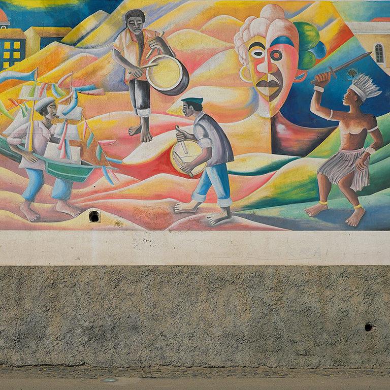 Afrian Art Mural