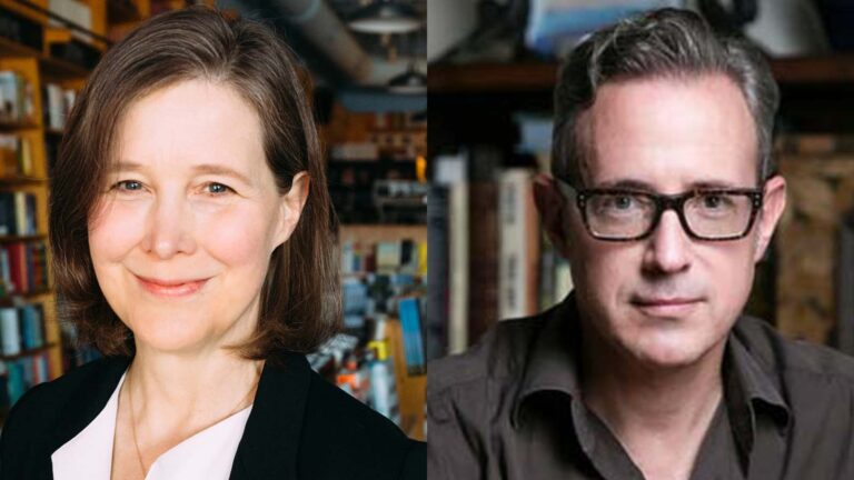 Ann Patchett and Patrick Ryan