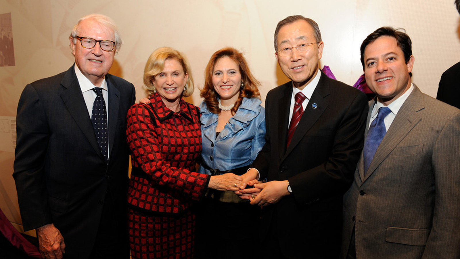 U.N secretary Ban Ki-moon at The Roosevelt House