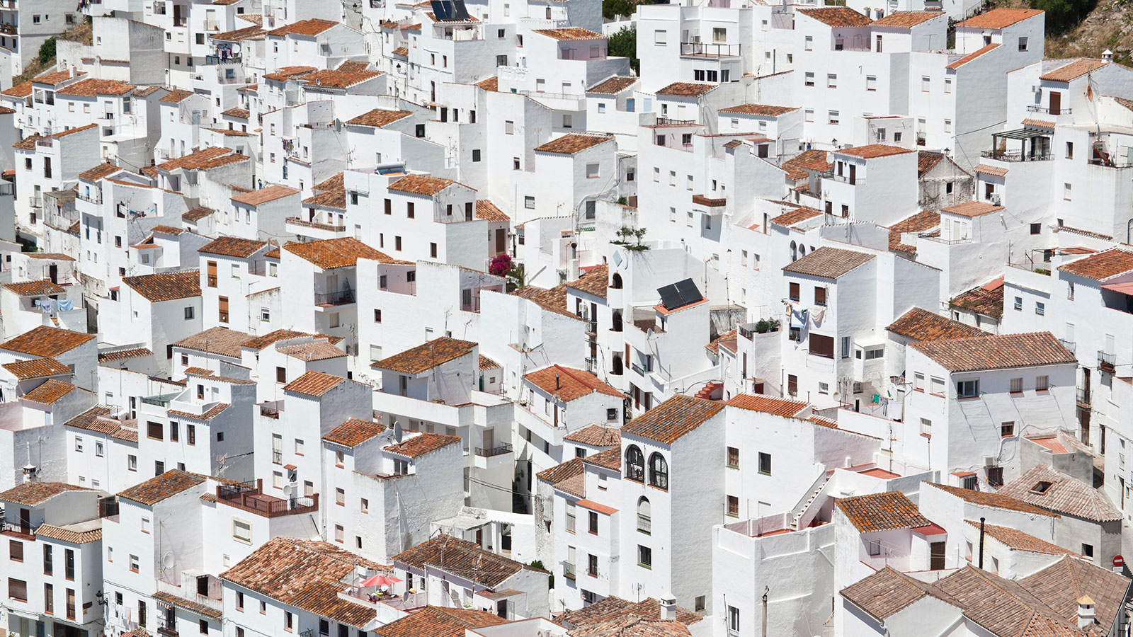 white houses of casares spain
