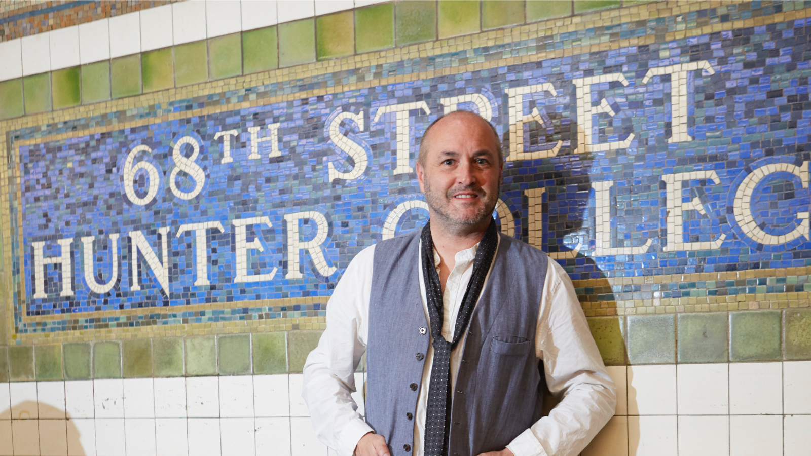 colum mccann in subway