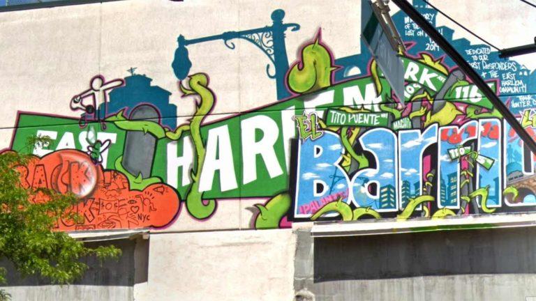harlem wall mural