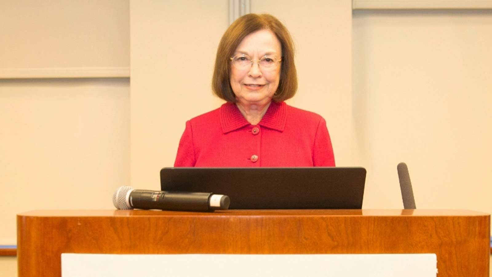 Gail McCain from the School of Nursing