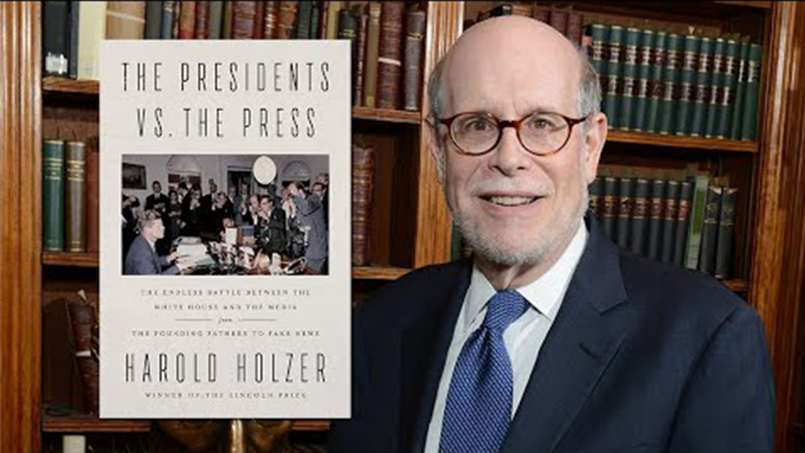 Harold Holzer, the Jonathan Fanton Director of the Roosevelt House Public Policy Institute at Hunter College.