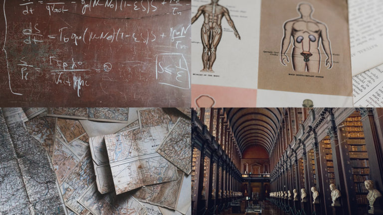 Collage of disciplines