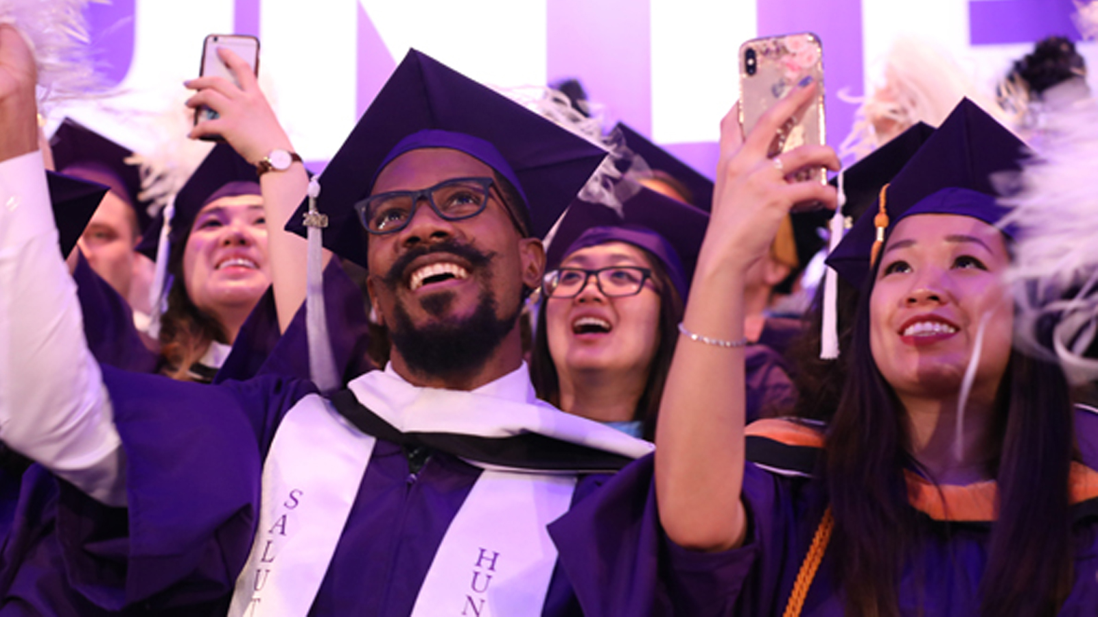 Hunter Graduates at the 218th Commencement