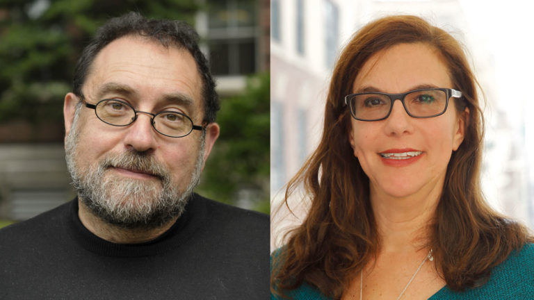 (From left) Steven Zipperstein and Leah Garrett