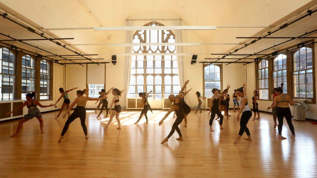 Hunter dance class