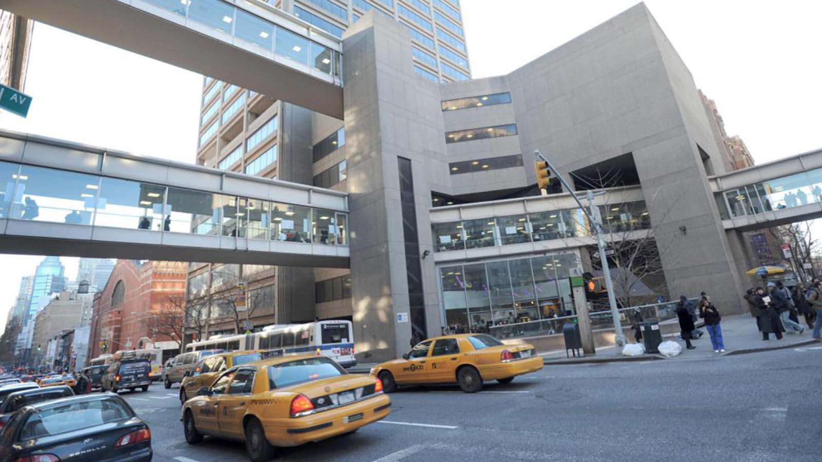 Street view of Hunter College