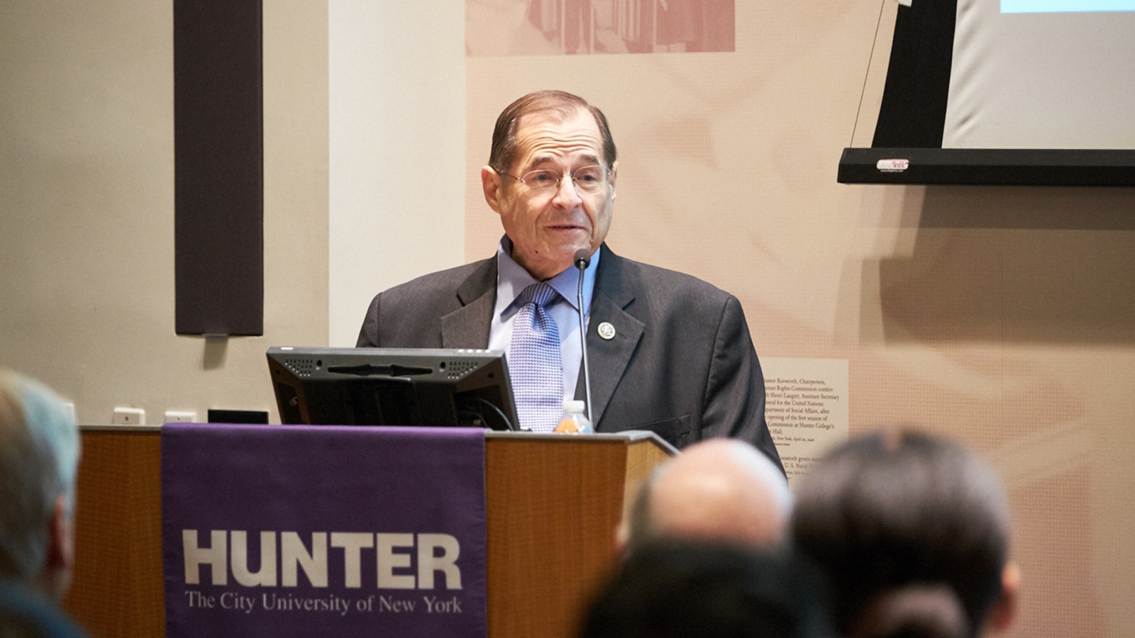 NYC Congressman Jerrold Nadler at Roosevelt House Public Policy Institute
