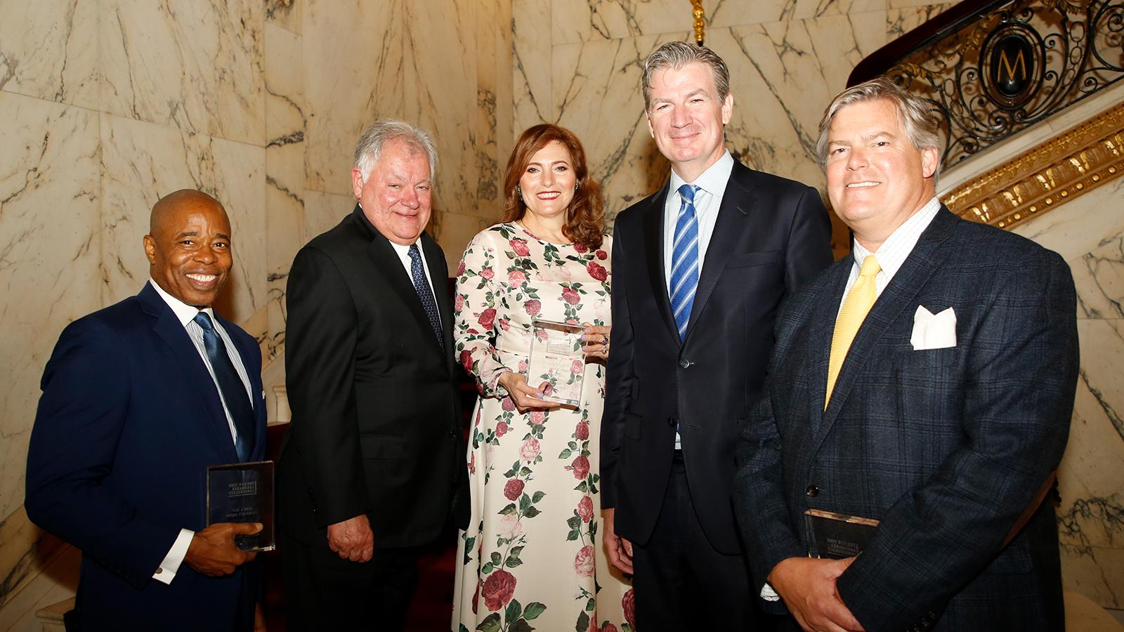 Hunter President Jennifer Raab at The NY Landmarks Conservancy's Award Ceremony