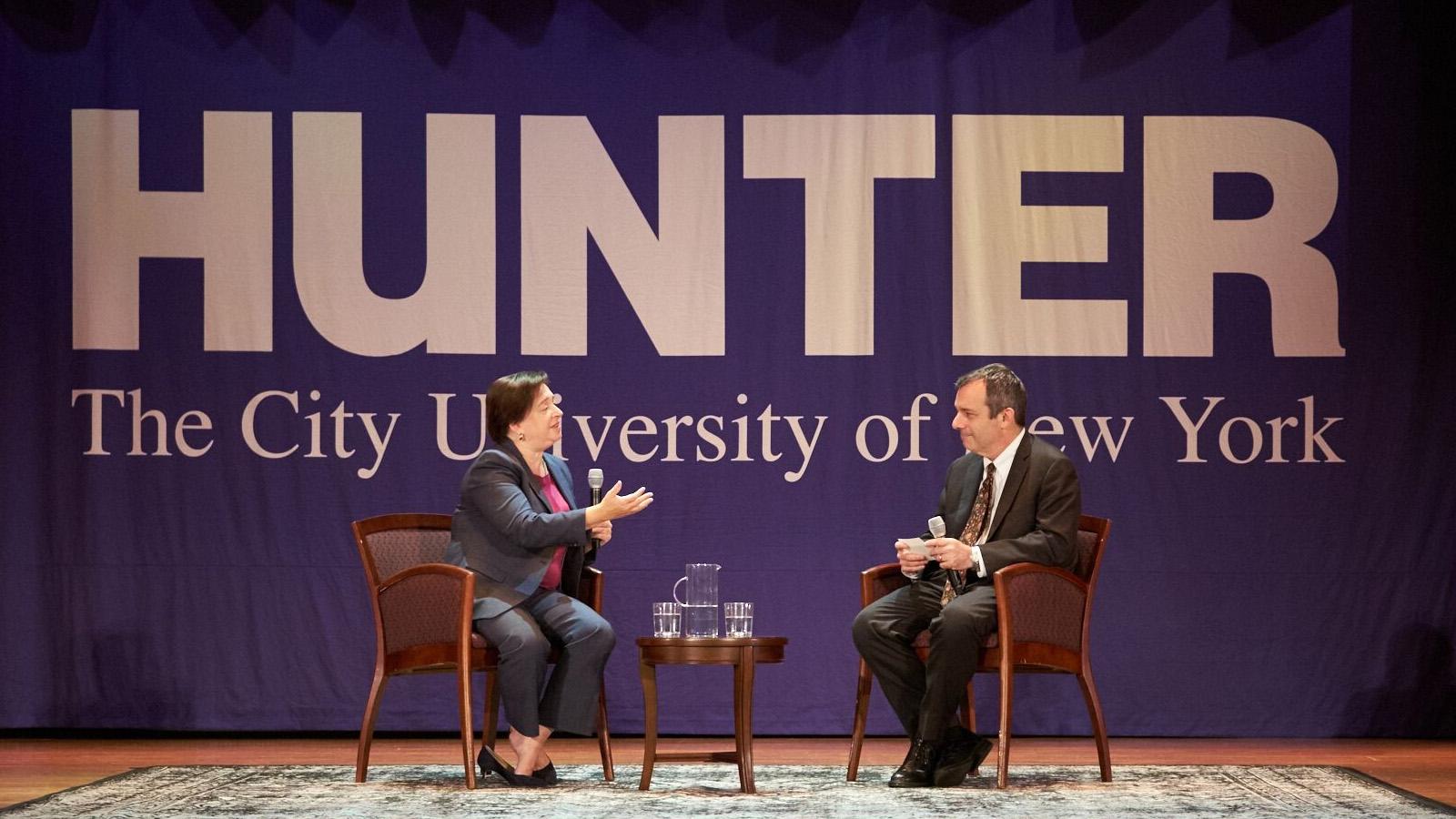 Supreme Court Justice Elena Kagan in conversation with Dean Manning