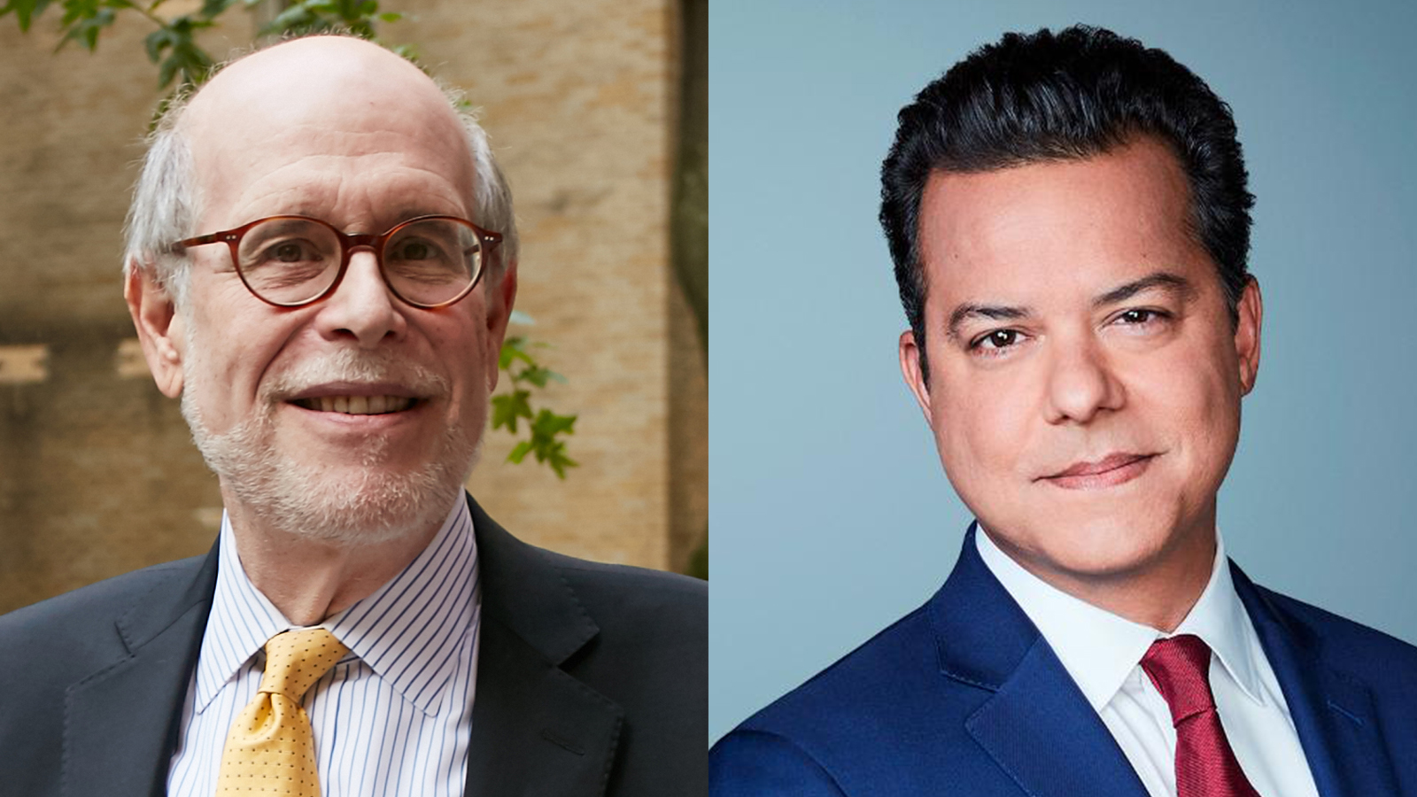 Harold Holzer and John Avlon