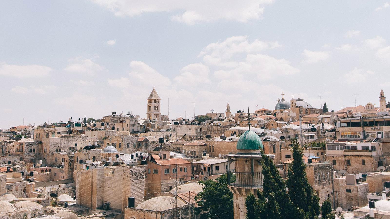 jerusalem israel city view