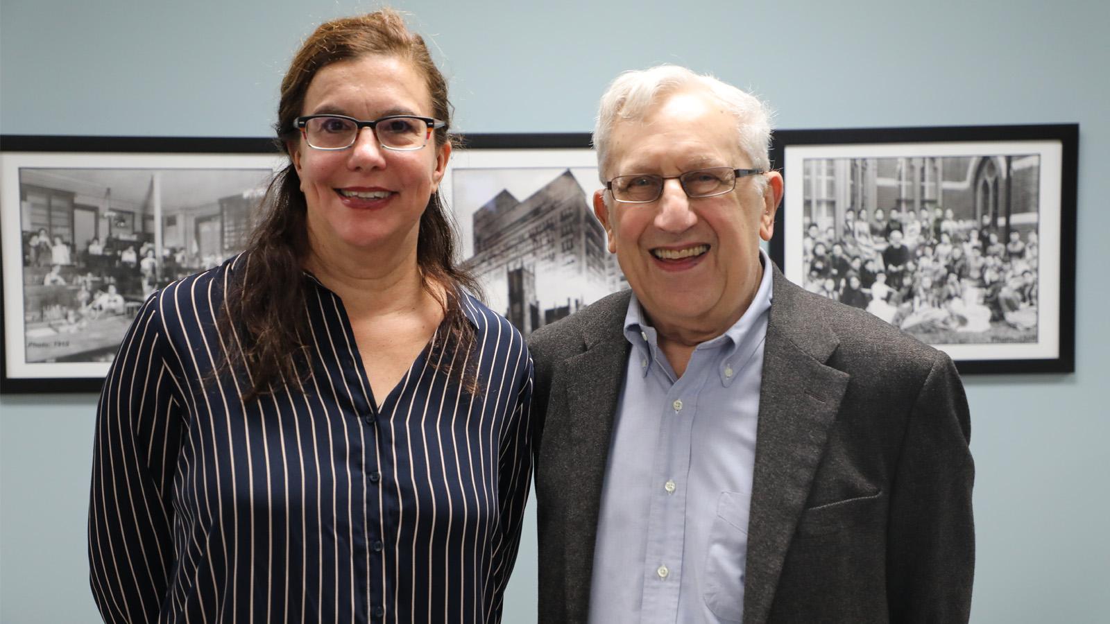 Leah Garrett and Robert Seltzer