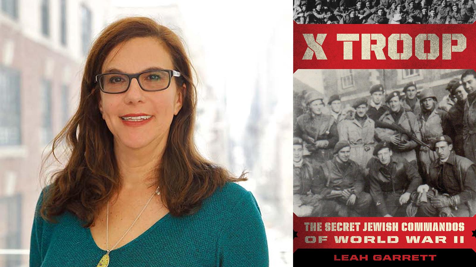 Leah Garrett and her book X troop