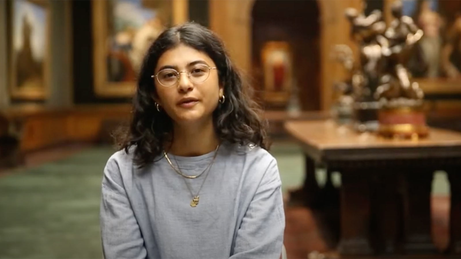Isabelle Fernandez at the Frick
