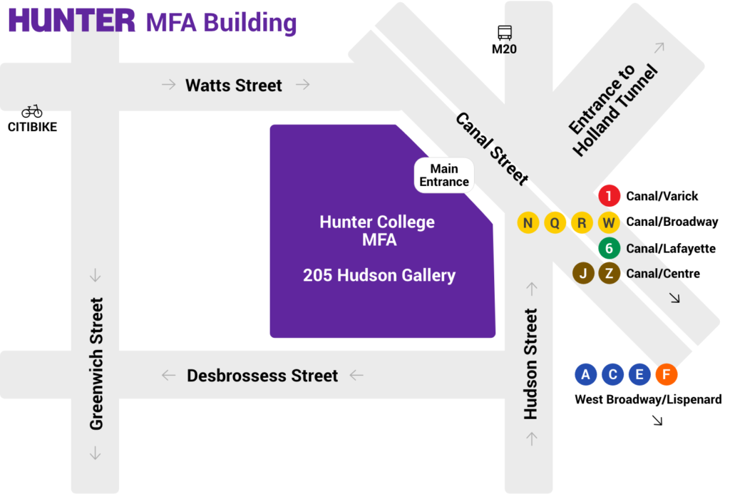 Mfa Building Map Hunter College