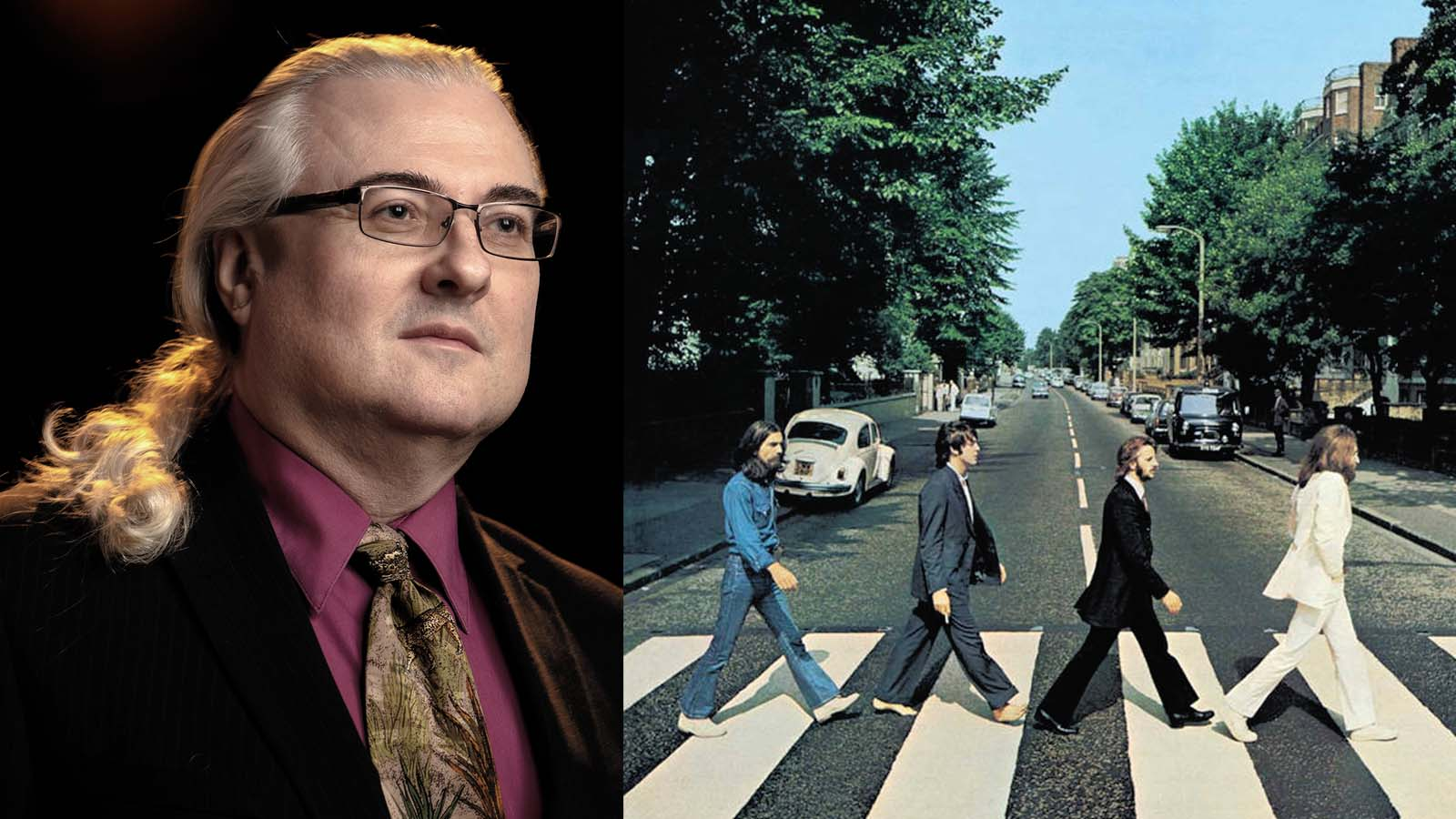 Mark Spicer and Abbey Road Album Cover