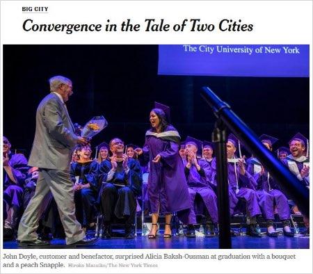 "New York Times ""Big City"" article screenshot"