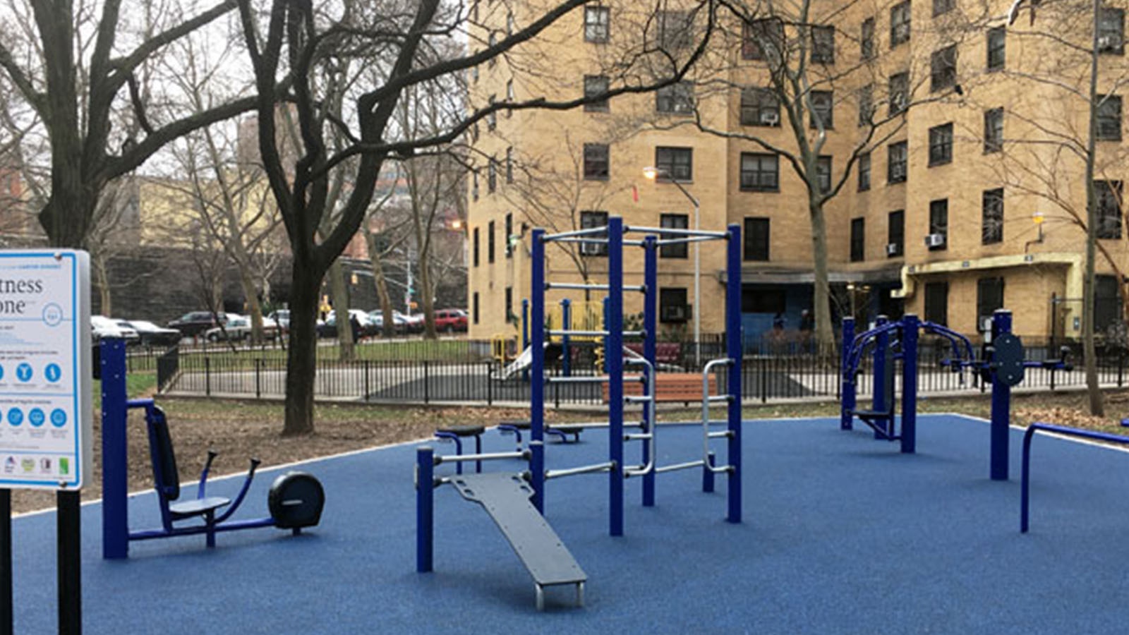 Image of a NYC playground