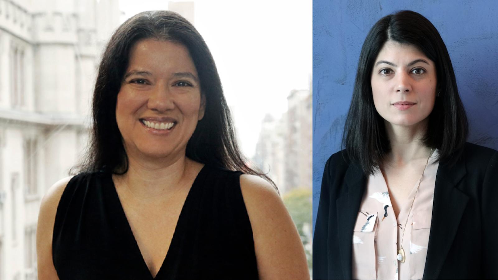 Regina Miranda and Ana Ortin