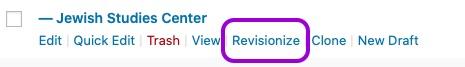 screenshot of revisionize location
