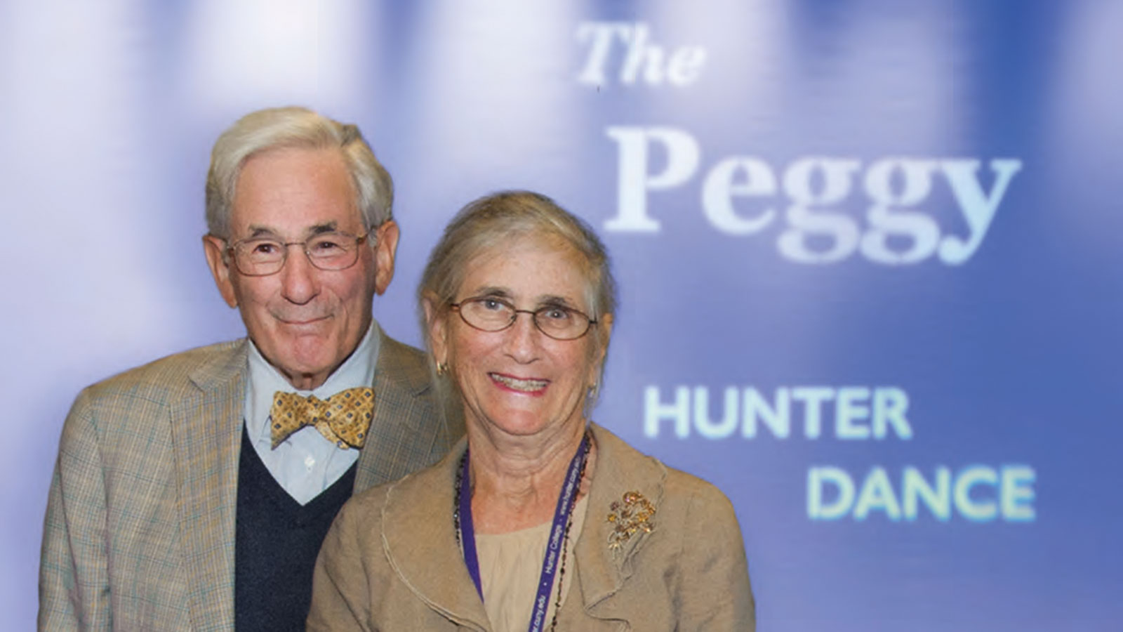 Richard Gilder and Peggy Tirschwell