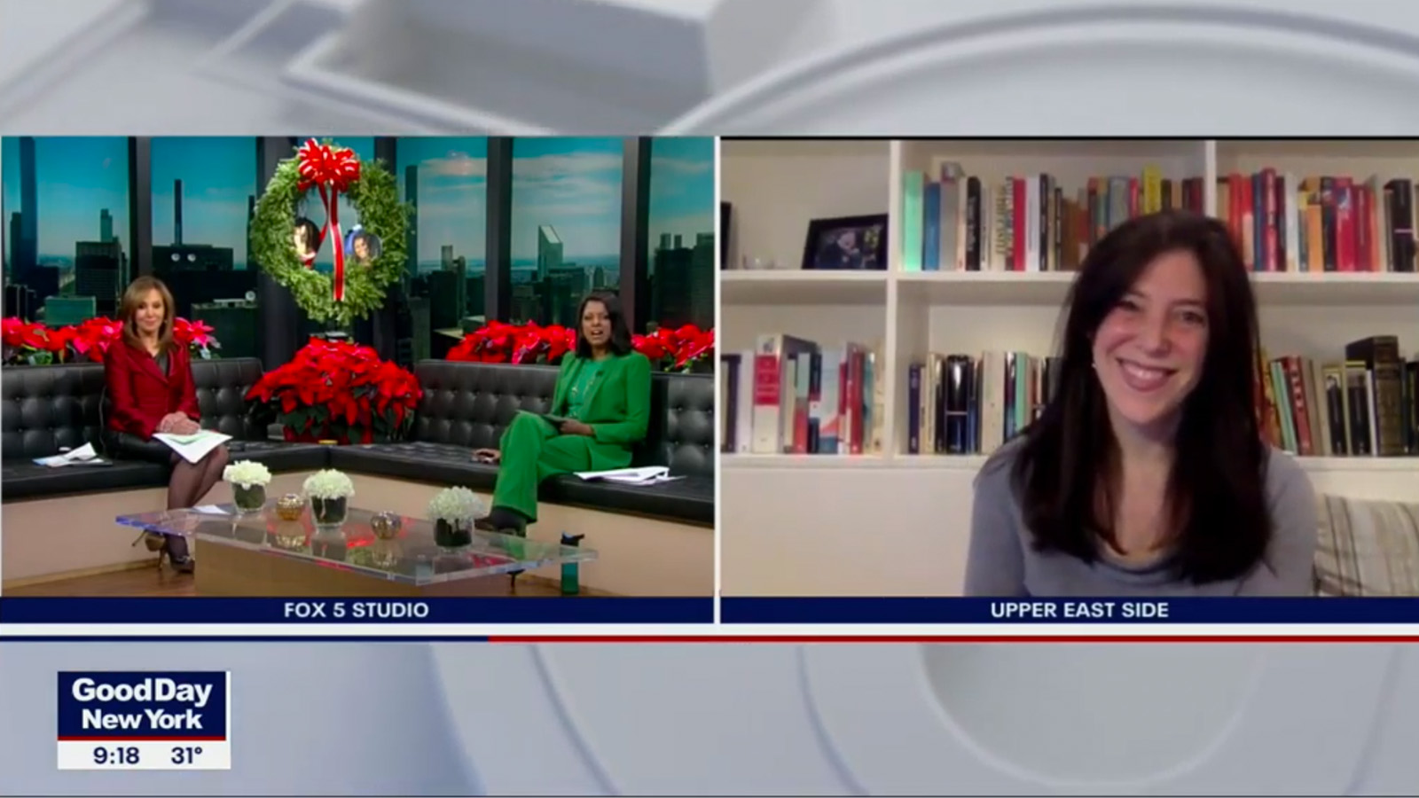 Professor Sarit Golub on Fox 5