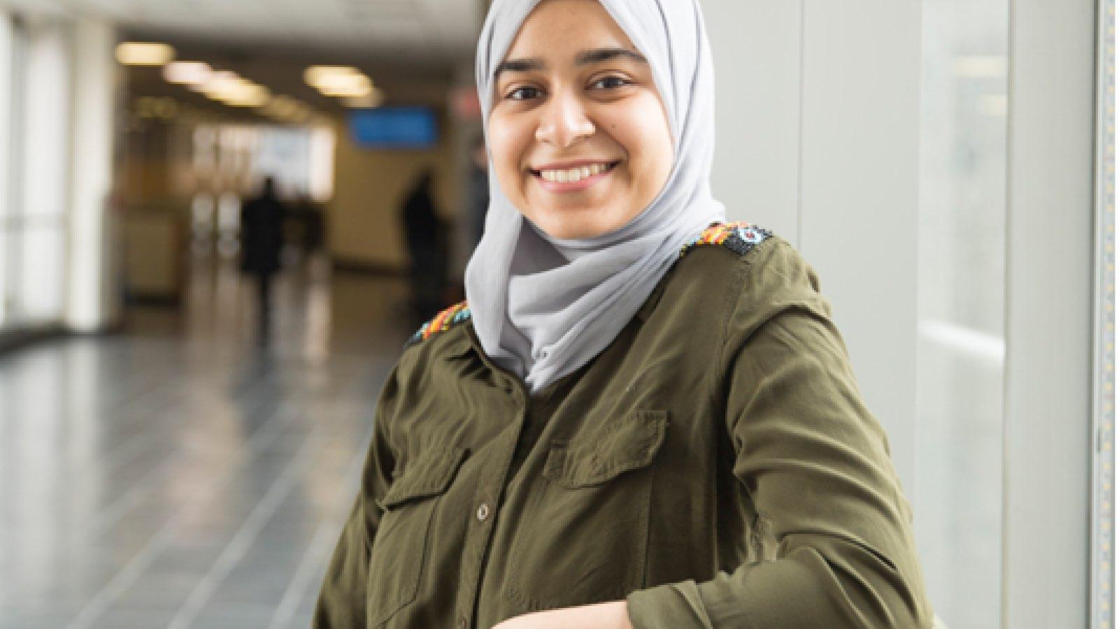 Hunter Student Safia Mahjebin