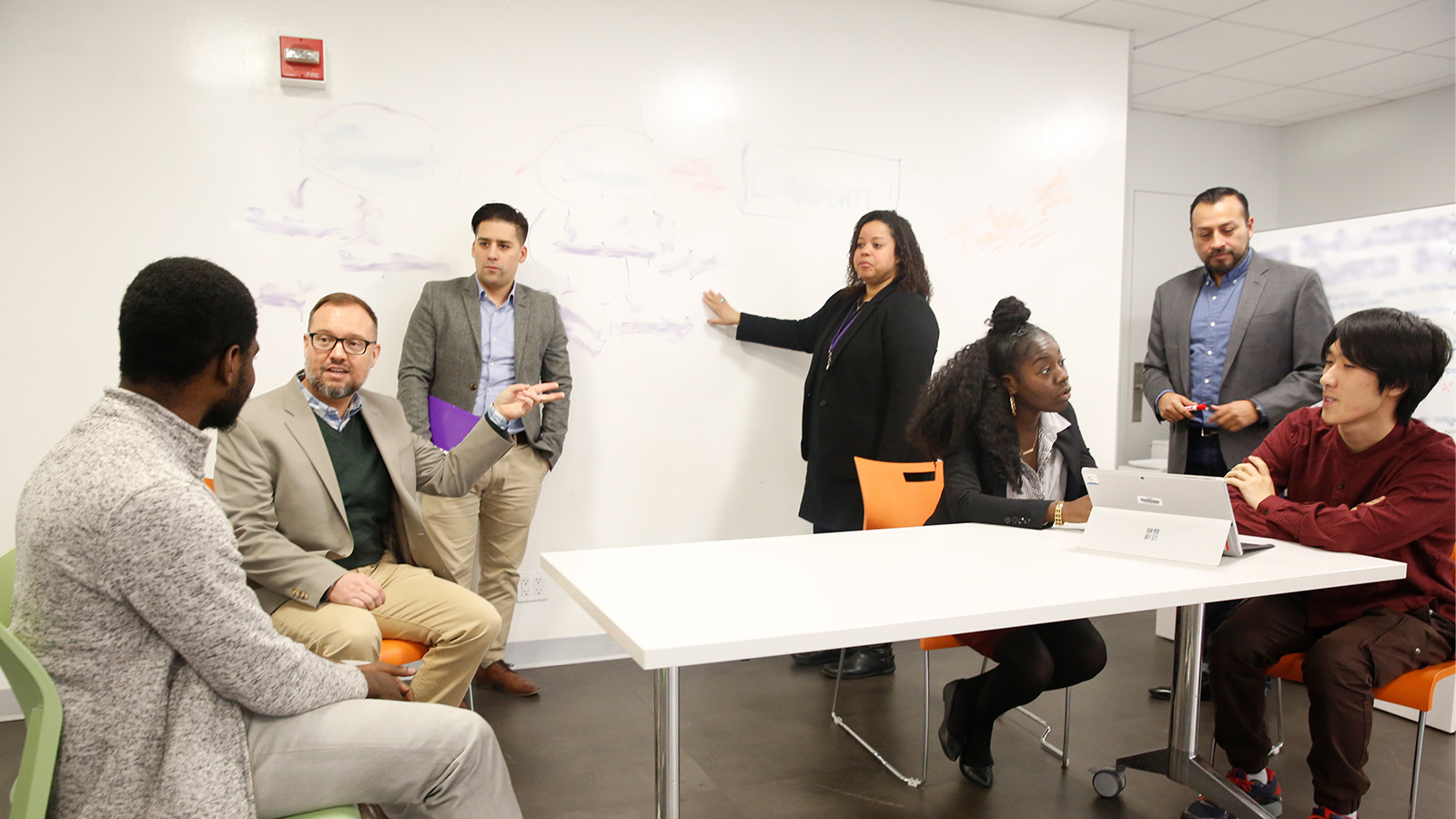 Hunter college faculty and students