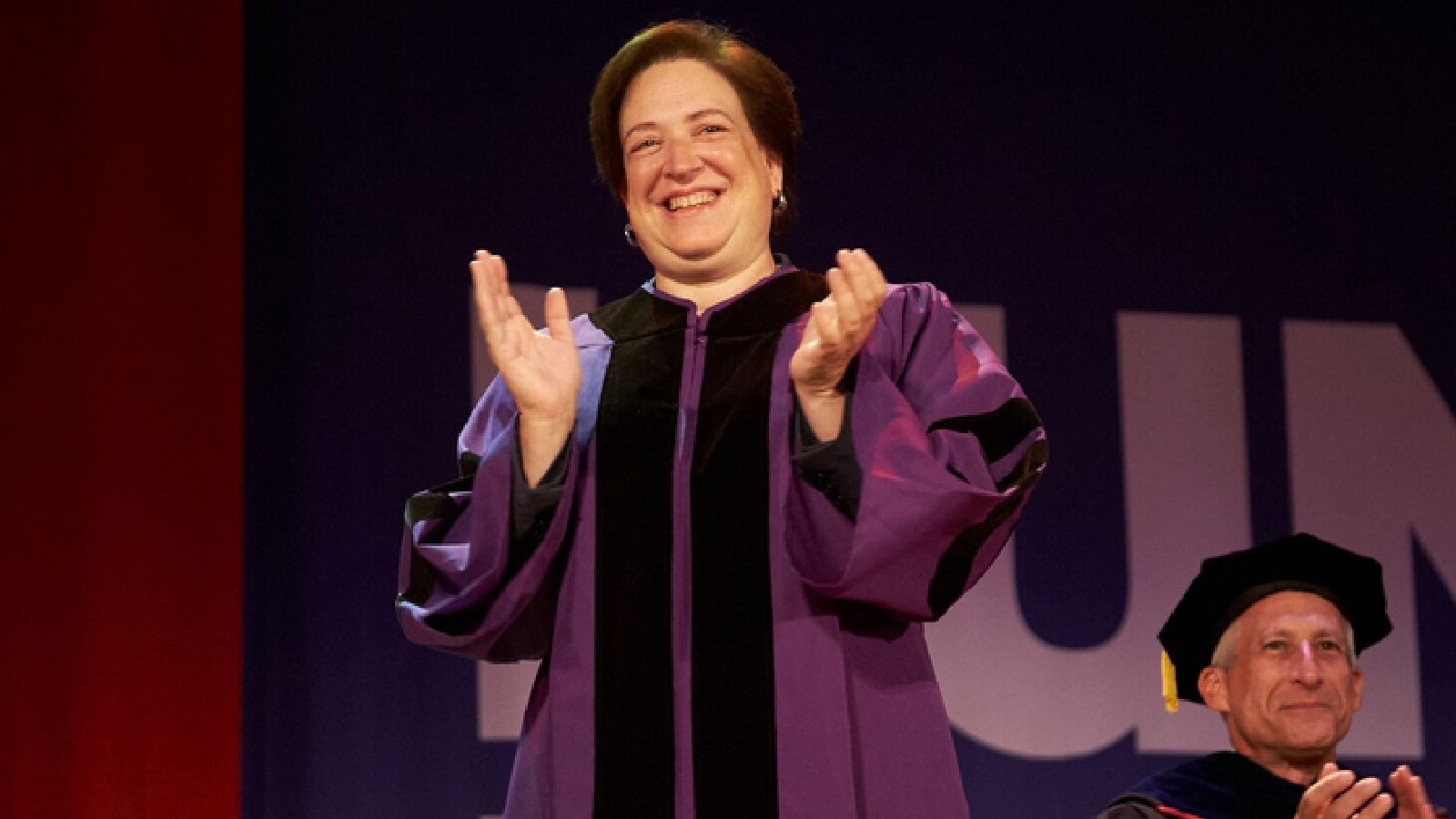 Supreme Court Justice Elena Kagan receives Honorary Doctorate of Humane Letters