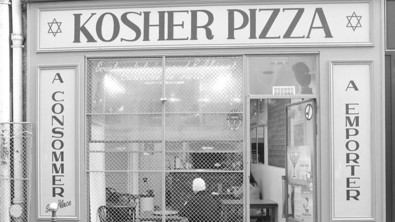Kosher Pizza place